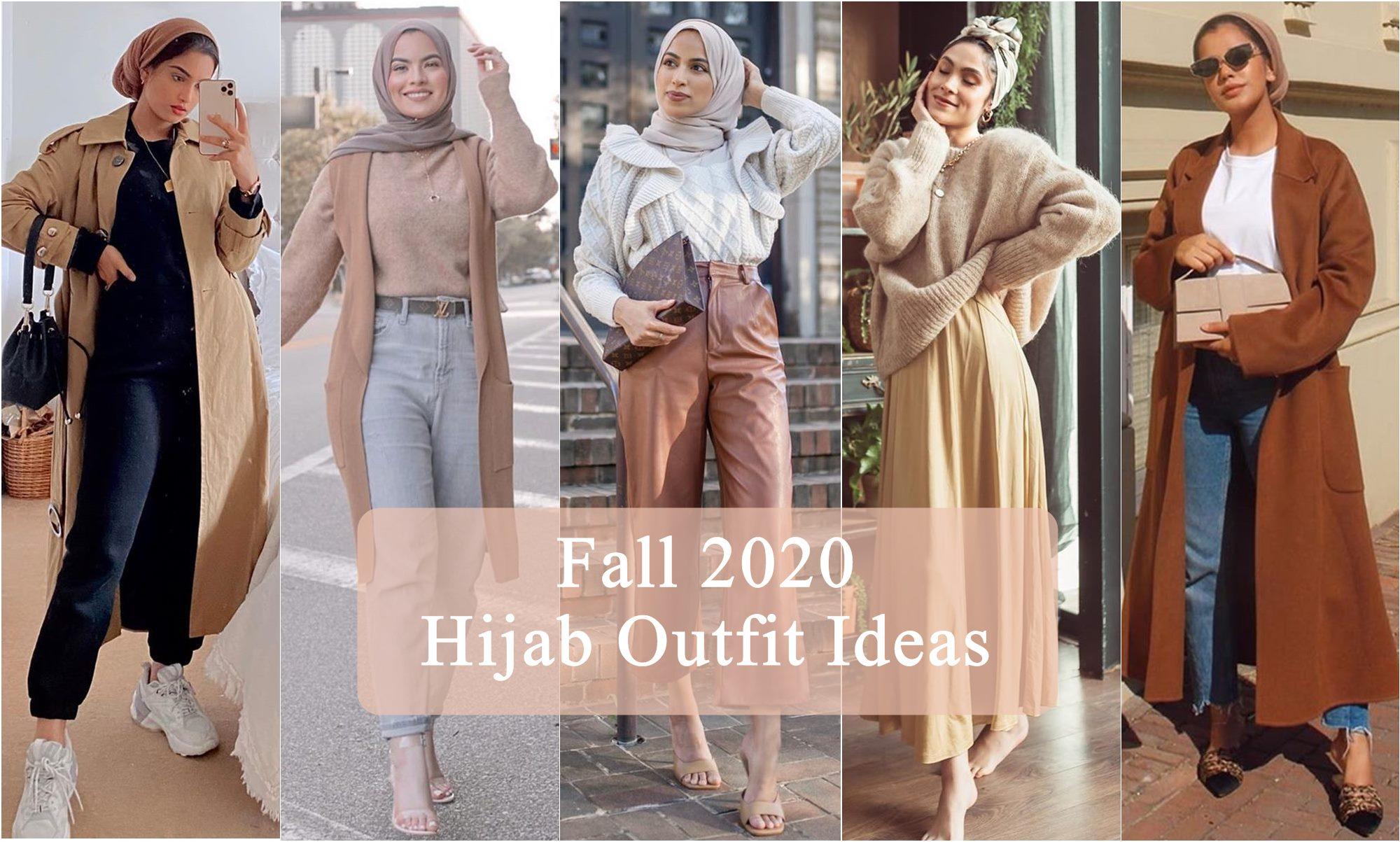 Fall 20 Hijab Outfit Ideas   Hijab Fashion Inspiration