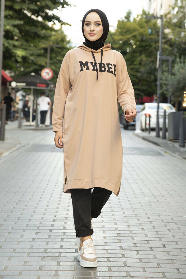 Stylish Modest Hooded Tops